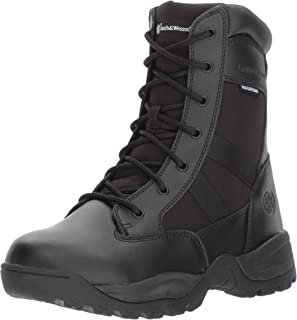 Smith & Wesson Men's Breach 2.0 Tactical Waterproof Side Zip Boots