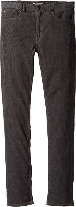 Burberry Kids - Skinny Fit Jeans in Dark Grey (Little Kids/Big Kids)