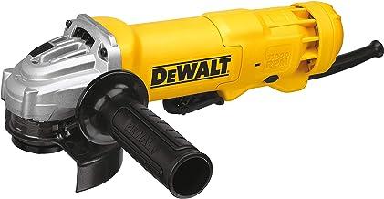 DeWalt 115mm, 1200W Paddle Switch Small Angle Grinder, Yellow/Black, DWE4212-B53 Year Warranty