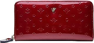 【フェアーフェアリー】 Fair Fairy レディース財布 本牛革 エナメル 型押し ラウンドファスナー長財布 140817