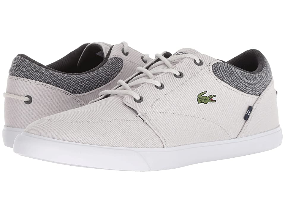 Lacoste Bayliss 318 1 (Light Grey/Dark Grey) Men