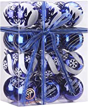 Best blue and silver ornaments on tree Reviews