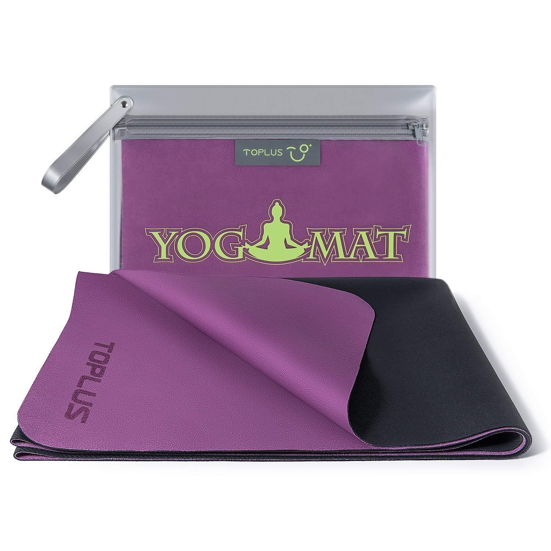 TOPLUS Travel Yoga Mat High Grade