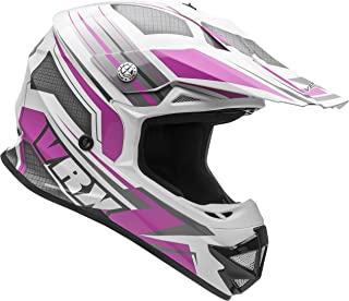 Vega Helmets VRX Advanced Off Road Motocross Dirt Bike Helmet (Pink Venom Graphic, Medium)