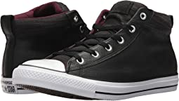 Chuck Taylor® All Star® High Street Leather w/ Fleece Mid