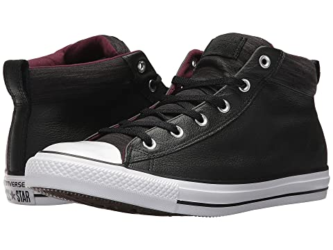 00a5dc86c6d8 Converse Chuck Taylor® All Star® High Street Leather w  Fleece Mid ...
