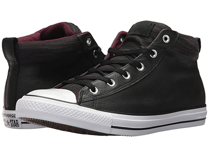 ca5a0f641eb Converse Chuck Taylor® All Star® High Street Leather w/ Fleece Mid | 6pm