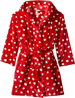 Polka Dots Fleece Robe (Toddler/Little Kids/Big Kids)
