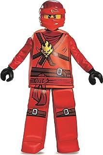 Disguise Kai Prestige Ninjago Lego Costume, Medium/7-8