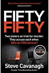 Fifty-Fifty: The Number One Ebook Bestseller, Sunday Times Bestseller, BBC2 Between the Covers Book of the Week and Richard and Judy Bookclub pick (Eddie Flynn Series) (English Edition) Formato Kindle