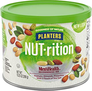 Planters Mixed Nuts, Men's Health Mix, 10.25 Ounce (Pack of 1)