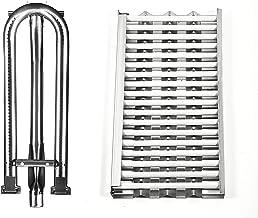 Replace parts Replacement for DCS 27 Series, 27DBQ, 27DSBQ, BGA36-BQAR, BGA36-BQARL, 30/36 / 48 Inch Gas Grill Models (Heat Plates with 18 Ceramic Rods & Burner)