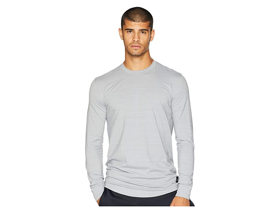 Under Armour Sportstyle Long Sleeve (Steel/Black) Men