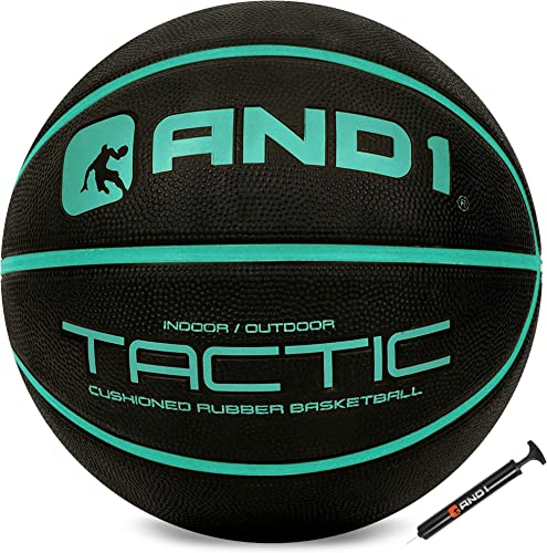 high quality AND1 Tactic Softech Rubber Basketball high quality (Deflated w/Pump Included): Streetball, outlet sale Made for Indoor/Outdoor Basketball Games outlet sale