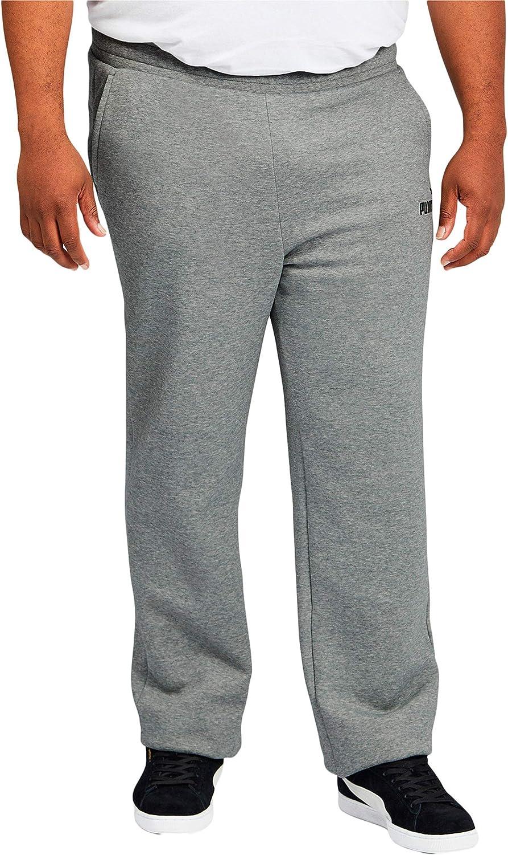 PUMA Men's Big & Tall Essentials Fleece Sweatpants Bt