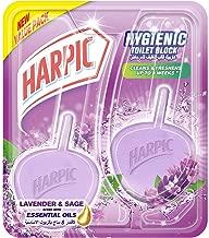 Harpic Hygiene Lavender Cageless Block for Toilet Cleaner, 26g