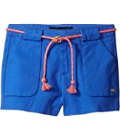 Tommy Hilfiger Kids - Woven Shorts with Belt (Little Kids/Big Kids)