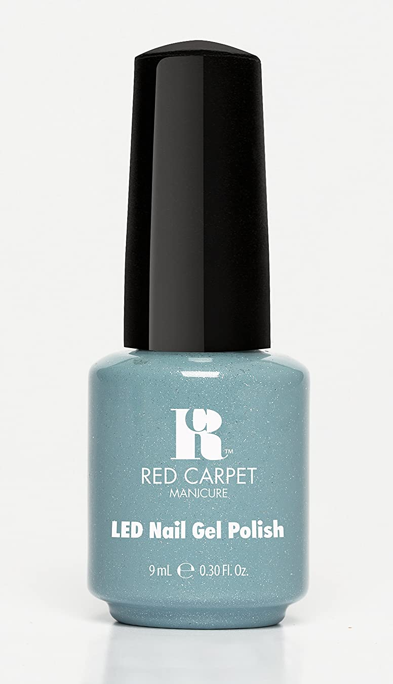 奪うパール王室Red Carpet Manicure - LED Nail Gel Polish - Power of the Gemstones - Aquamarine - 0.3oz/9ml