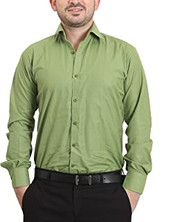 The Standard Men's Cotton and Viscose Formal Shirt