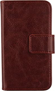 Gukas Color Design PU Wallet Flip Leather with Card Slots Cover Skin Protection Case Shell for Elephone C1 Max 6