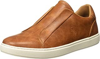 US Polo Association Men's Murray Leather Sneakers