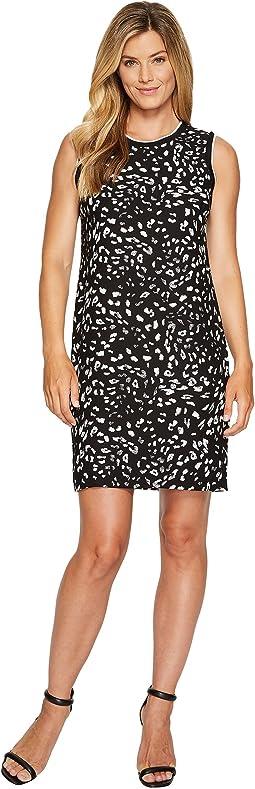 Sleeveless Animal Whispers Shift Dress