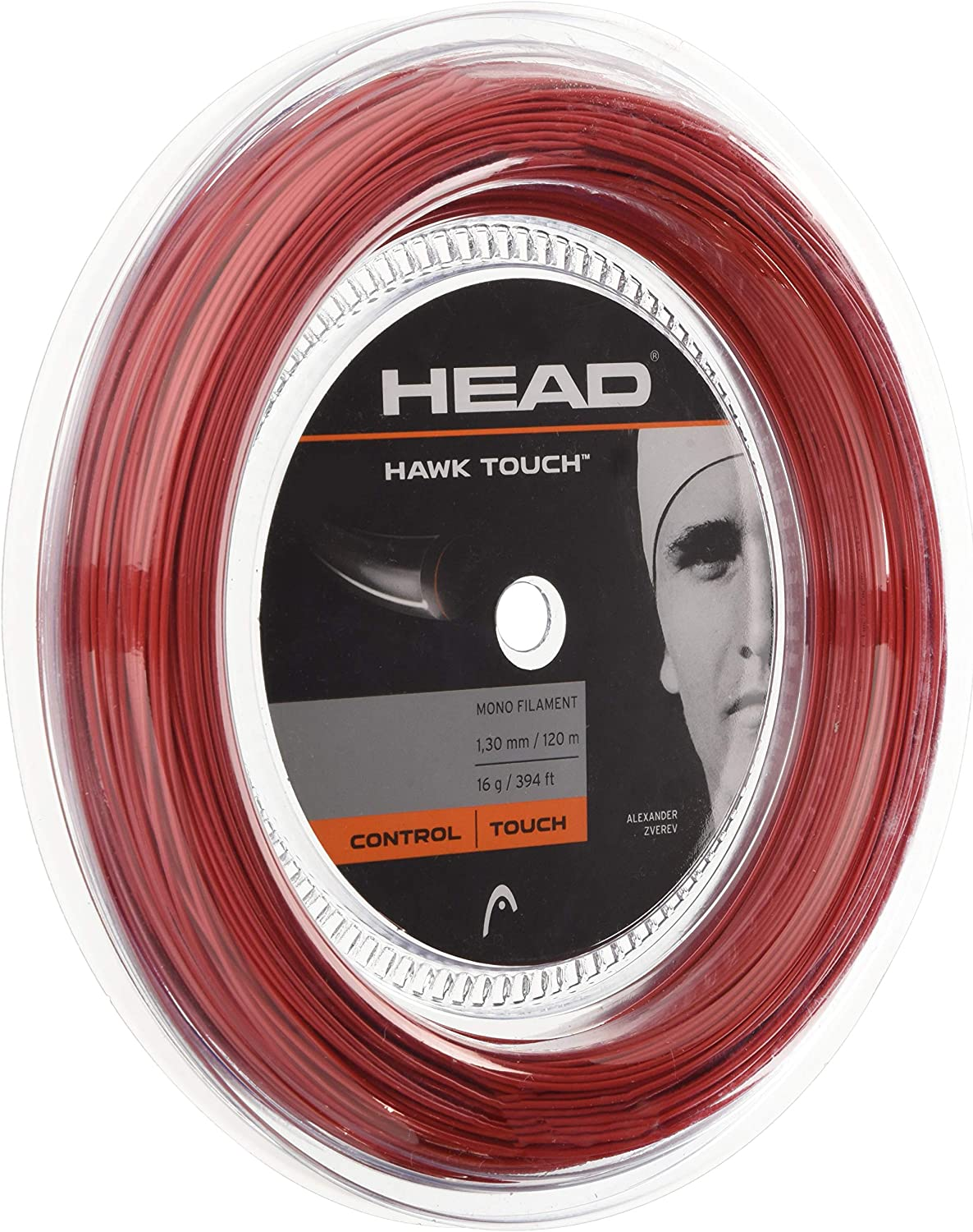 HEAD Unisex-Adult's Max 50% Oklahoma City Mall OFF Hawk Touch String 120 Rolle Tennis