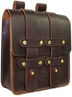LXFF Mens Genuine Leather Fanny Pack Waist Bag Belt Pouch Bum Bags for Men Women
