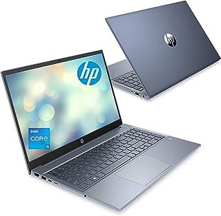 HP ノートパソコン インテル第11世代 Corei5 メモリ16GB 512GB SSD 15.6インチ フルHD IPSディスプレイ HP Pavilion 15-eg フォグブルー Microsoft Office付き(型番:323Z3P...
