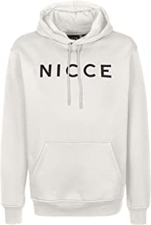 Nicce Lithium Stone Grey Overhead Hoody Tracksuit
