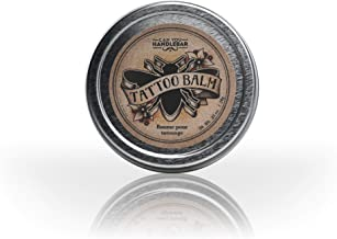 Tattoo Healing Balm - All Natural Tattoo Aftercare Product | Moisturizes and Protects Skin and Tattoo | Hypoallergenic Fragrance-Free Unscented Tattoo Healing Ointment | Made in the USA