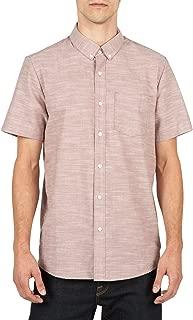 Men's Everett Oxford Modern Fit Woven Short Sleeve Shirt.