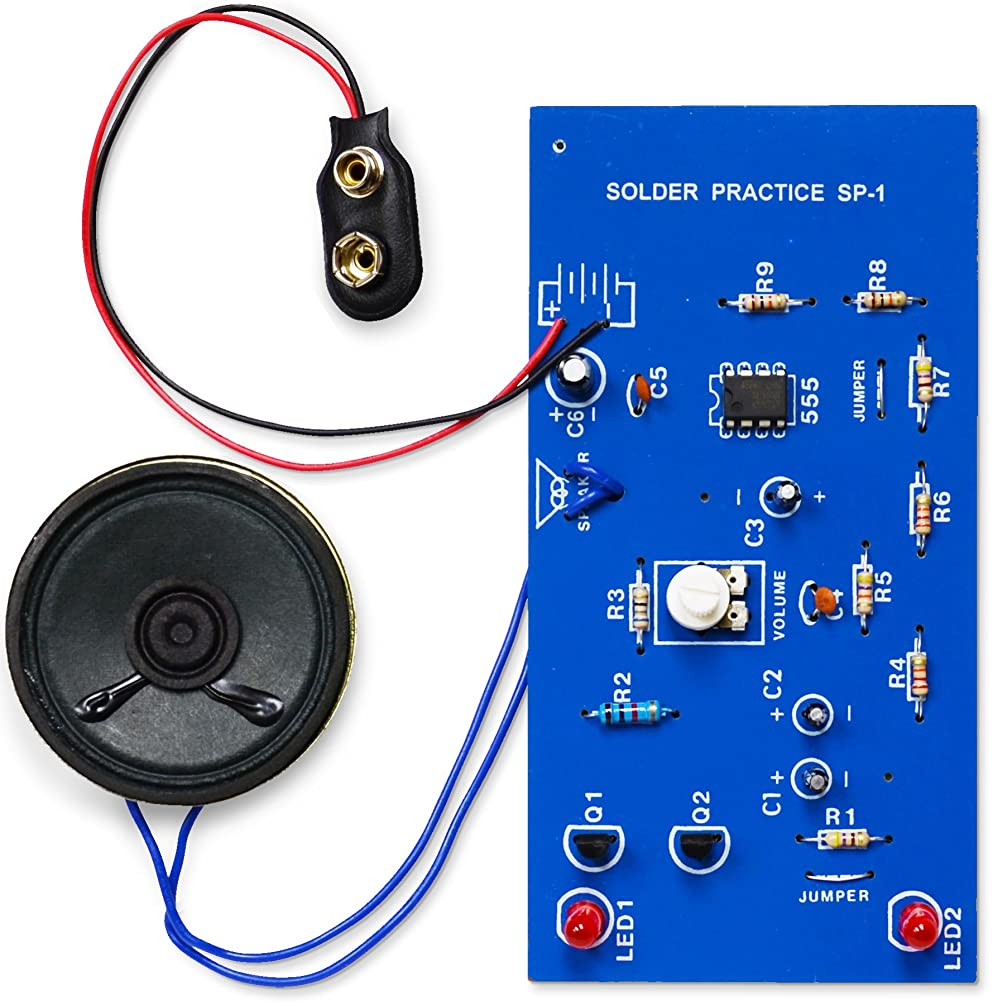 Elenco  Practical Soldering Project Kit
