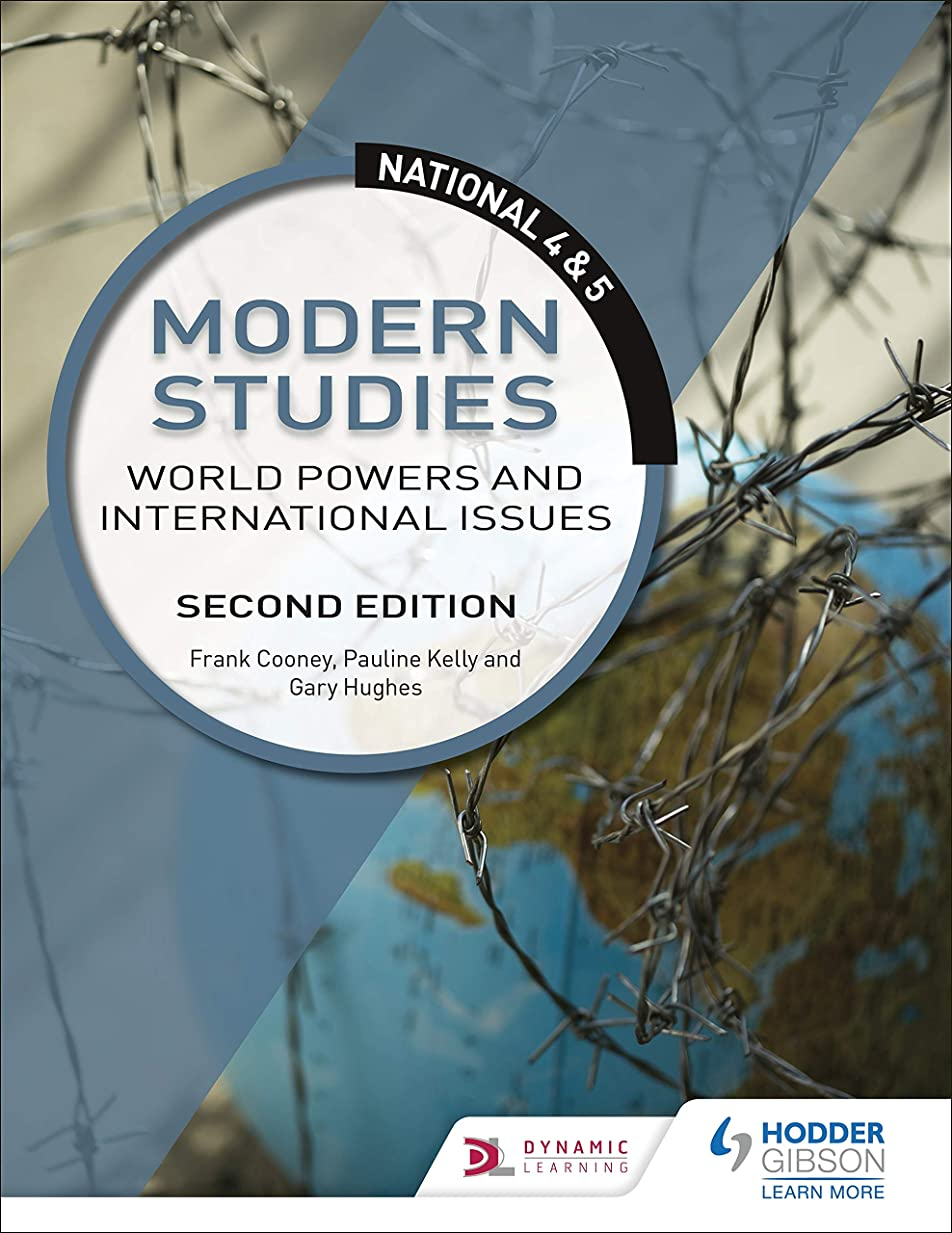フィードファイアルやけどNational 4 & 5 Modern Studies: World Powers and International Issues: Second Edition (English Edition)