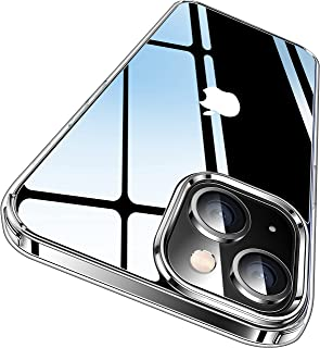 CASEKOO Crystal Clear Designed for iPhone 13 Case, [Not Yellowing] [Military Grade Drop Protection] Shockproof Protective ...