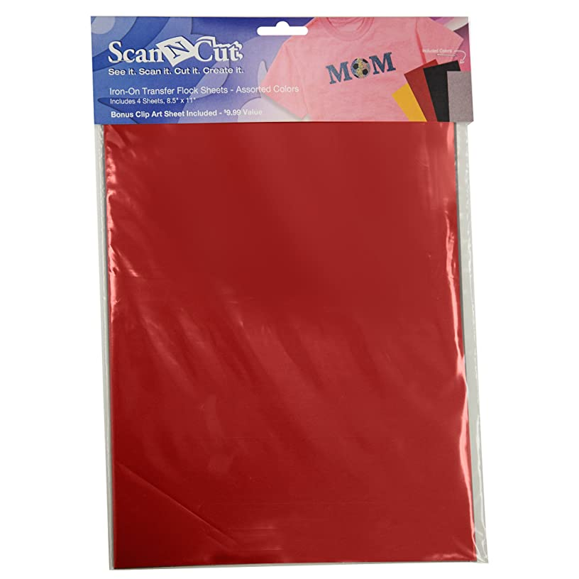 Brother ScanNCut CATFL01 Iron-On Transfer Flocked Sheets