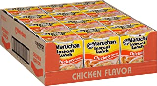 Maruchan Instant Lunch Chicken Flavor, 2.25 Ounce (Pack of 12), Set of 4
