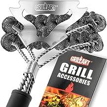 Grill Brush Bristle Free & Scraper – Safe BBQ Brush for Grill – Non Wire..