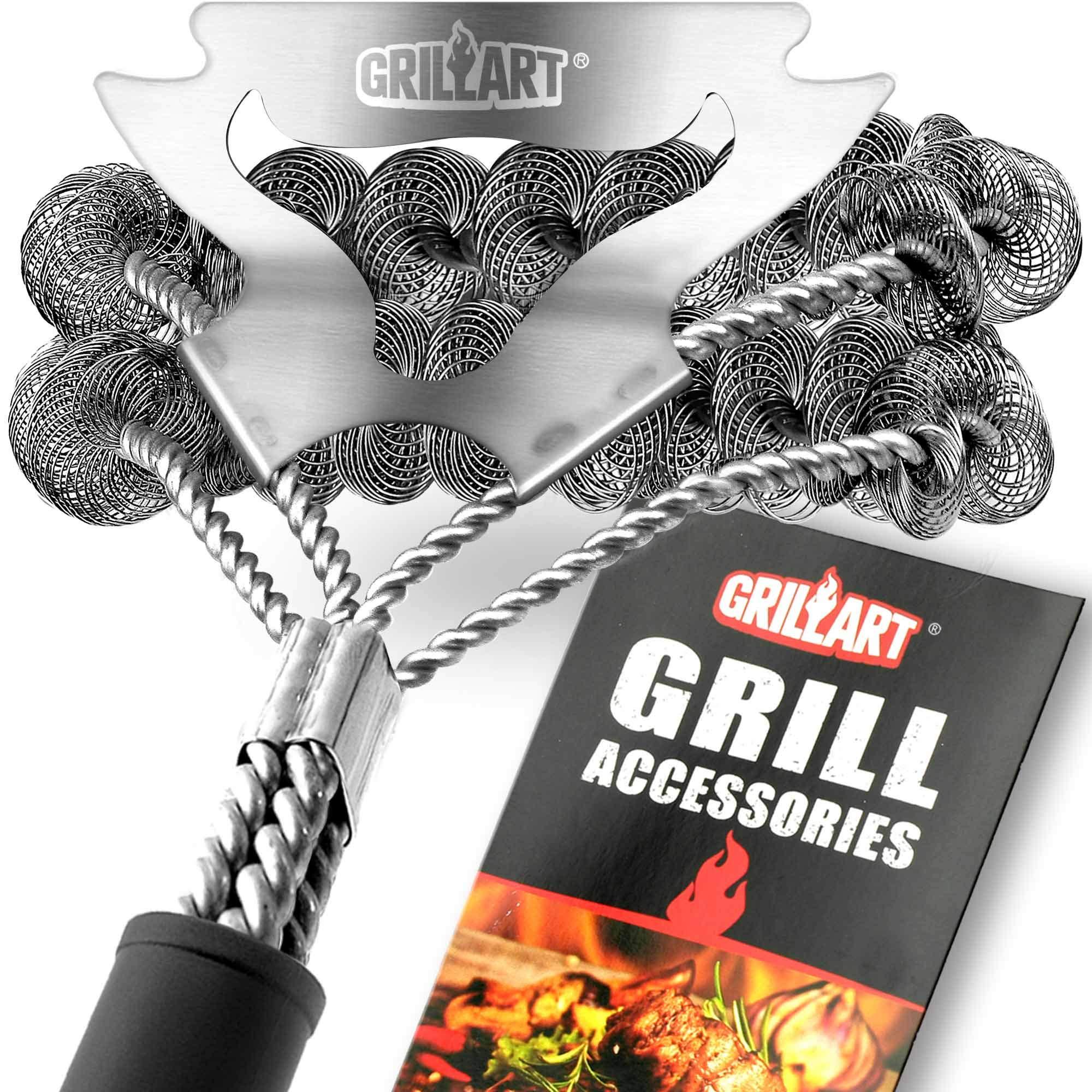 Grill Brush Bristle Free Scraper