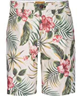 Morgan Bermuda Shorts in Hawaiian Print