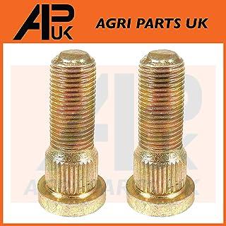 APUK 6 x Front Wheel Nut Set 1//2 Compatible with Fordson Dexta Major /& Super Power Models Tractor