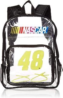 Logo Brands NASCAR Unisex Clear Backpack