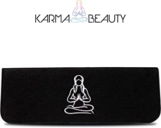 Heat Resistant for Hair Straightener | Curling Iron Cover | Heat Case | Flat Iron Travel Case | Easy To Carry | Heat mat | Protective Flat Iron Sleeve | Karma Beauty |