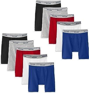Fruit of the Loom Boys Cotton Boxer Brief Underwear