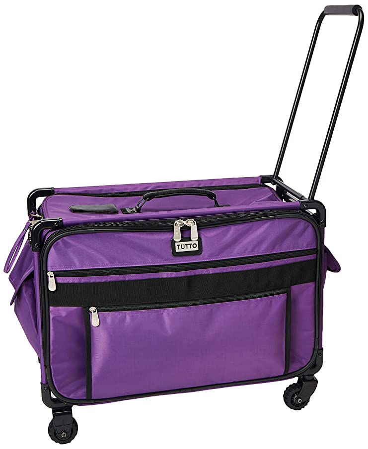 Mascot Metropolitan Tutto Machine Case On Wheels Extra Large 24in Purple, X-Large/24