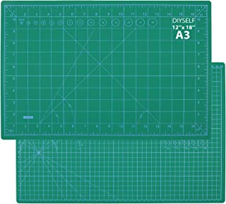 """Self Healing Sewing Mat,18""""x12"""" Craft Cutting Mat for Sewing Scrapbooking Quilting Hobby Fabric Precision Arts Crafts Proj..."""