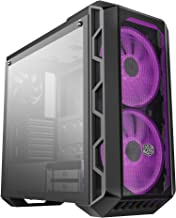 Cooler Master MasterCase H500 - RGB PC Case with Dual 200mm Fans for High-Volume Airflow, Mesh and Transparent Front Chass...