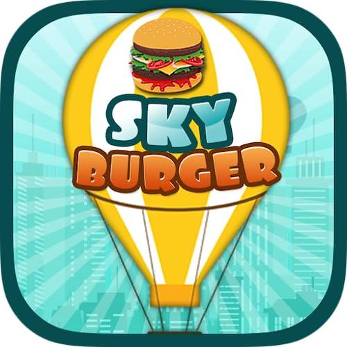 Sky Burger Unlimited Race Make Biggest Burger
