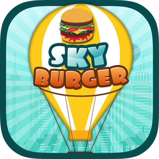 Sky Burger Unlimited Race Make Biggest Burger