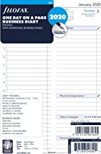 Filofax A5 Business Day per Page appointments Diary 2020